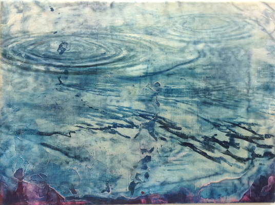 Thermal 2016 Öl/LW 38 x 52 cm