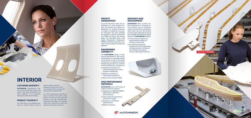 Konzeption & Gestaltung eines Folders