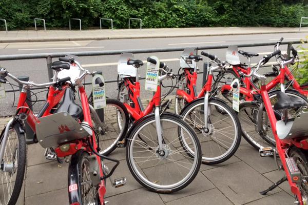 Gestaltung & Verteilung von Bike Cards
