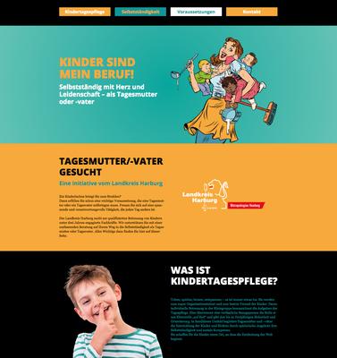 Konzeption & Gestaltung einer Landingpage