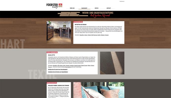 Konzeption, Gestaltung & Umsetzung einer Homepage