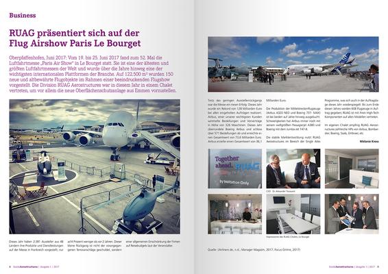 Konzeption & Gestaltung des Mitarbeitermagazines