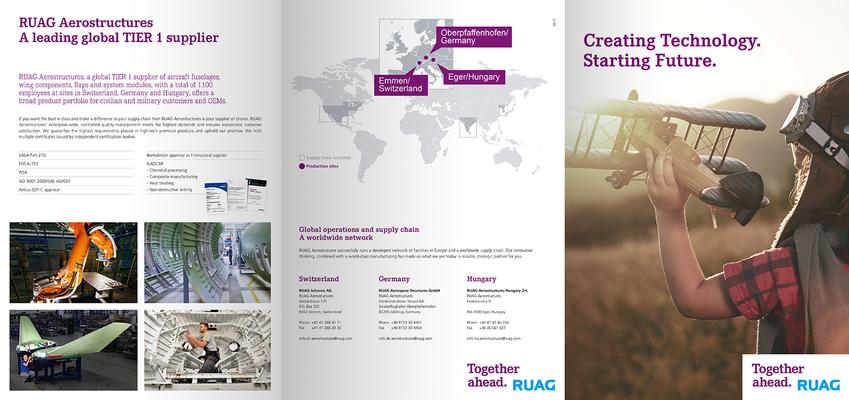 Konzeption & Gestaltung einer Broschüre