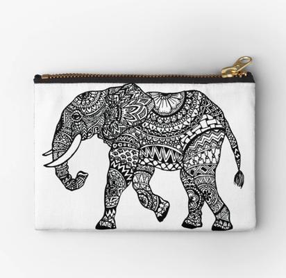 Studio Clutch mit Elefant