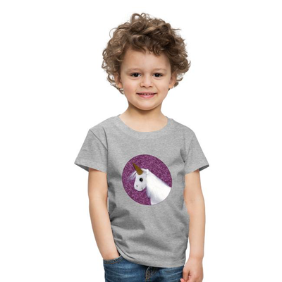 Kinder T-Shirt mit Einhorn