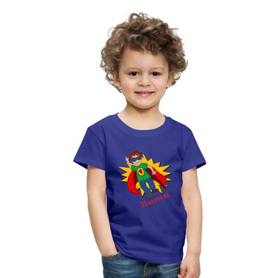 Kinder T-Shirt Superheld + Name
