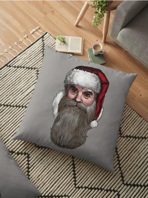 Kissen mit Weihnachtsmann
