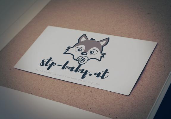 Logodesign für stp-baby.at, Baby-Plattform