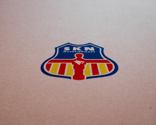 Logodesign, SKN Wuzzelbrigade, Tischfußball-Verein