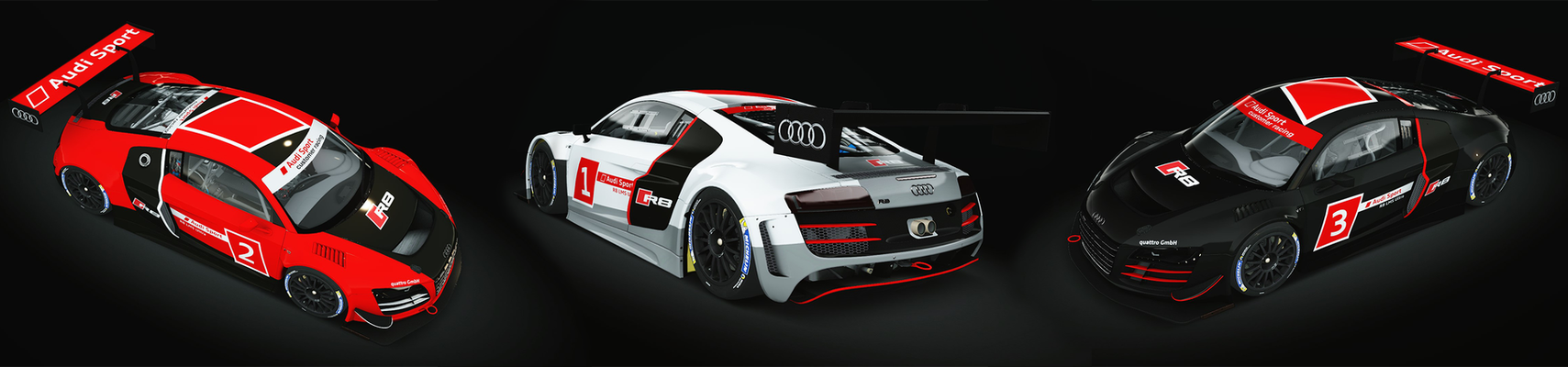 Audi Sport Skinpack