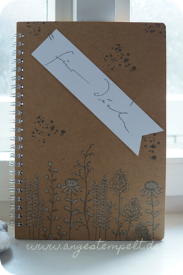 Notizbuch mit Wildblumen - Patricia Stich 2016
