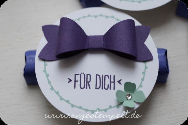 Schöne Schleife drauf/SU-Elementstanze Schleife - Patricia Stich