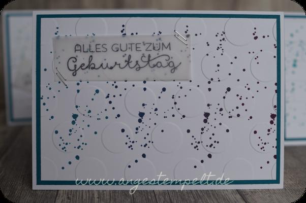 Geburtstagskarte - Patricia Stich 2016