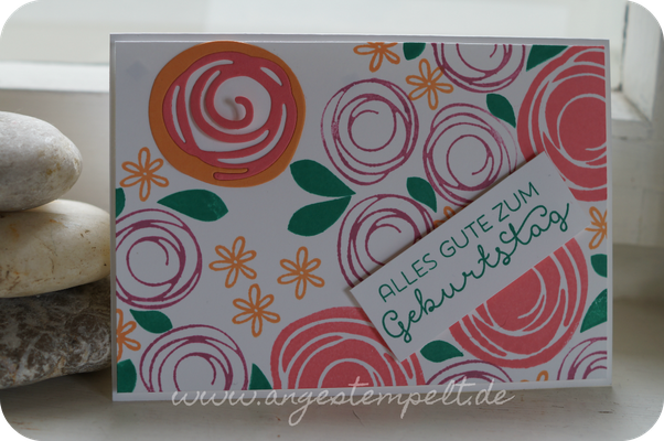 Swirly Bird und neue In Colors von Stampin´Up! - Patricia Stich 2016