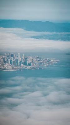 .. über den Wolken, San Francisco