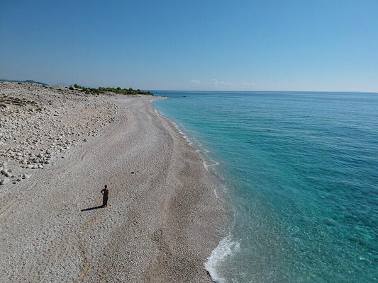 Dhermi, Albanien