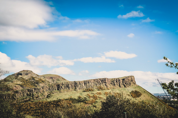 Blick auf den Arthurs Seat, Edinburgh