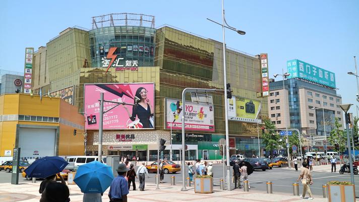 Wangfujing/ Einkaufsstraße