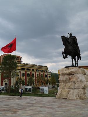 Skanderbeg-Platz Tirana, Albanien