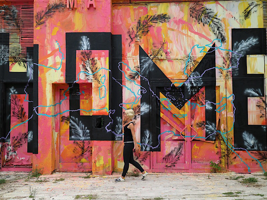 Streetart Tirana, Albanien