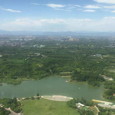 Aussicht vom Olympiaturm