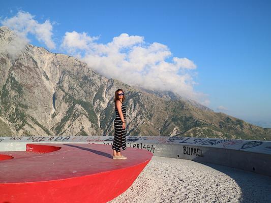 Llogara-Pass, Albanien