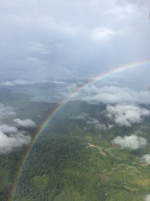 Blick über Palawan