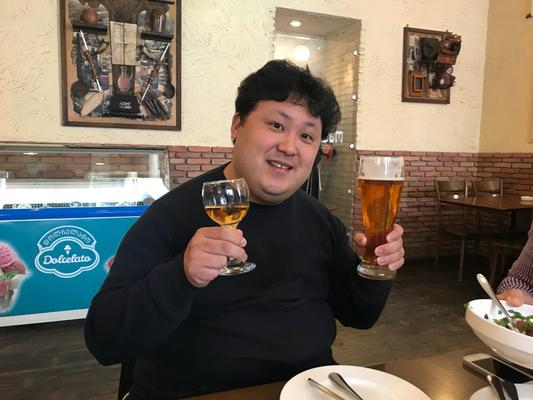 ビールもおいしいしワインも絶品だし・・