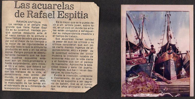 Las Acuarelas de Rafael Espitia