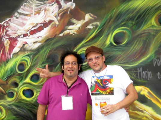 Bienal Muralismo Cali :: Artistas: Tasso & Rafael Espitia