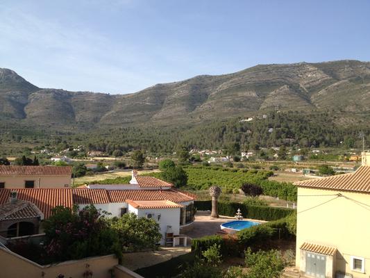 Coll de Rates berzicht- vista montanas- mountain view