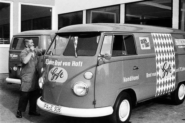 Lieferwagen in den 1960er Jahren