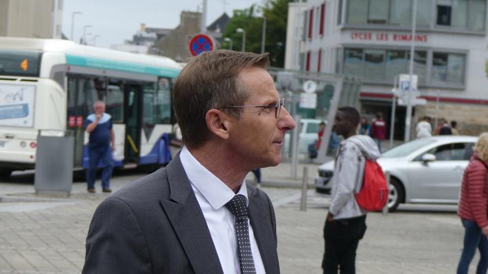 Eric Margerin, directeur de Keolis Saint-Malo, répond au questions de Ouest-France.