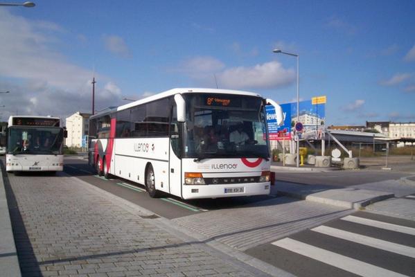 Setra S319 GT-HD, Gare Routière