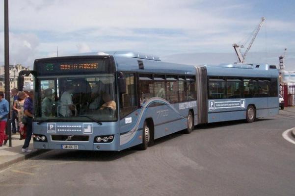 Volvo 7700A de démonstration, Saint-Vincent