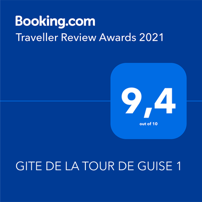 Traveller Review Awards 2021 - Holydays apartment in Tours
