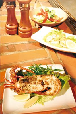 ステーキ膳所 アクアラング IMURA(ステーキゼンショアクワラングイムラ)車海老鉄板焼き