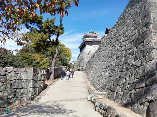 松山市・松山城写真画像