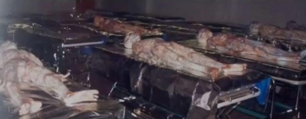 """6 corps d'aliens décédés - pouvaient-ils tous tenir dans """" la soucoupe volante """" ?"""