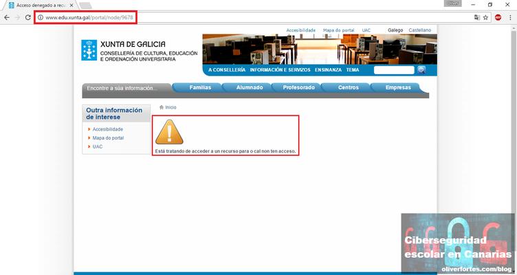 Protocolo de actuacion contra el acoso escolar Galicia