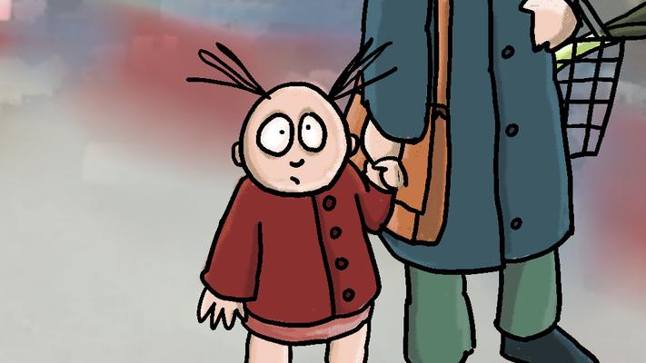 In de rij - Sesamstraat Animatie Christa Moesker Animeer Groningen
