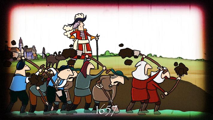 De geschiedenis van het Slochterdiep - De Fraeylemaborg