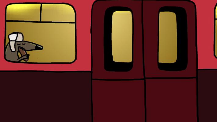 Studio Snugger - In Rusland nemen hond zelf de metro Animatie Christa Moesker Animeer Groningen