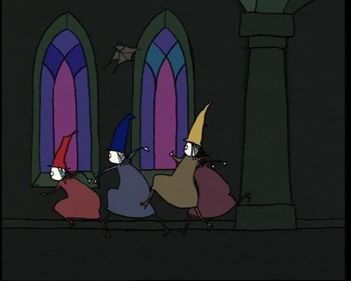 Zes heksen - Sesamstraat