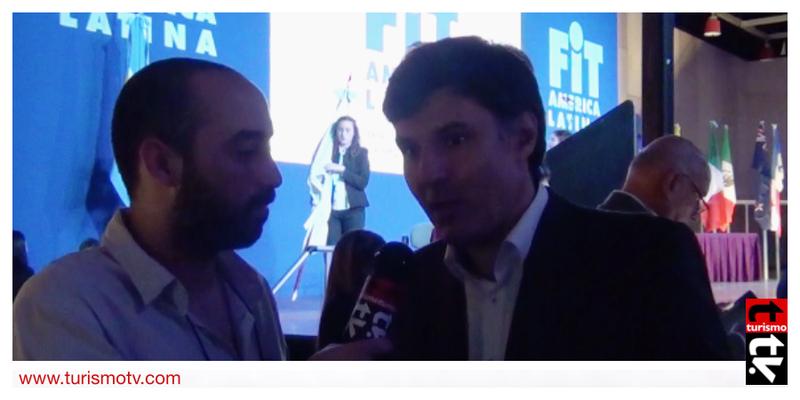 Ignacio Crotto en Feria Internacional de Turismo  FIT 2016