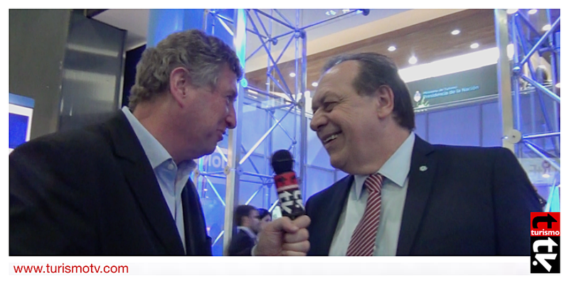 Ministro Gustavo Santos en Feria Internacional de Turismo FIT 2016
