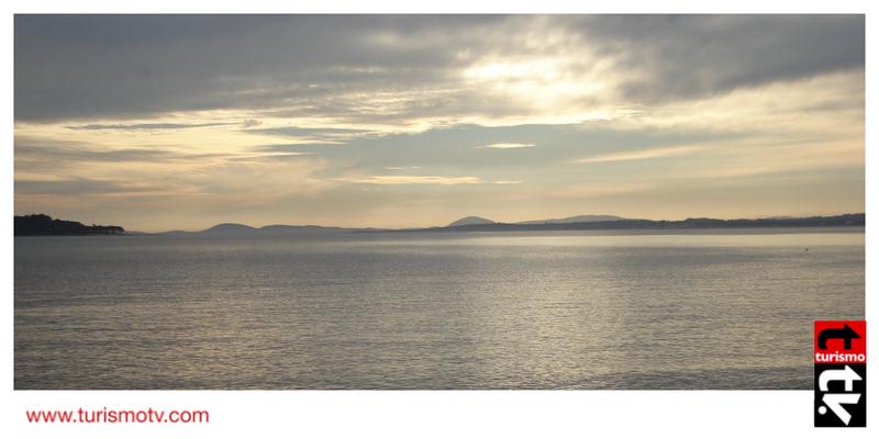 La costa en Punta del Este