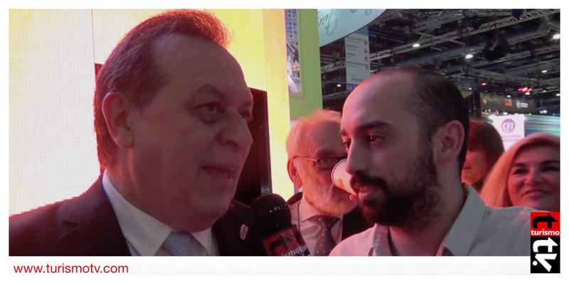 Gustavo Santos en Feria Internacional de Turismo FIT 2016