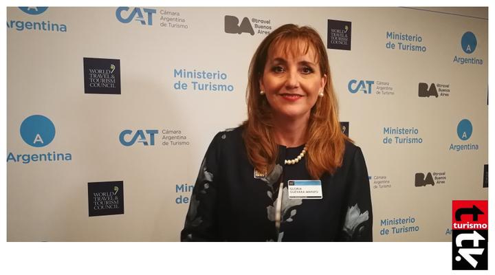 Gloria Guevara en Global Summit de la WTTC