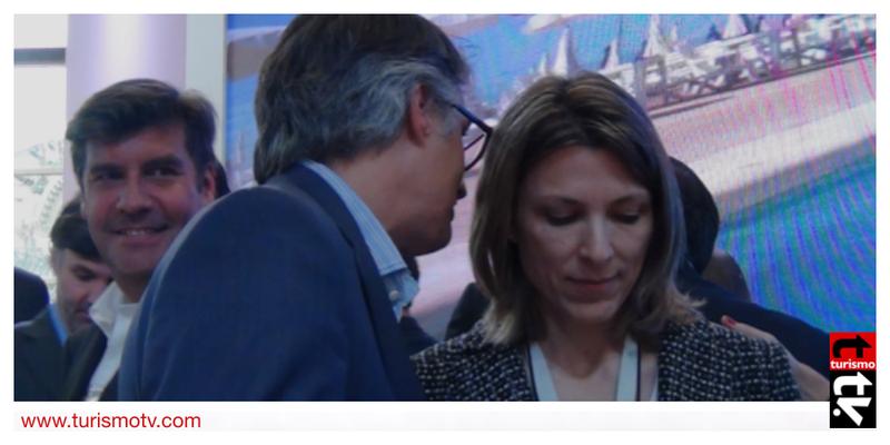 Isella Costantini y Diego García en Feria Internacional de Turismo FIT 2016